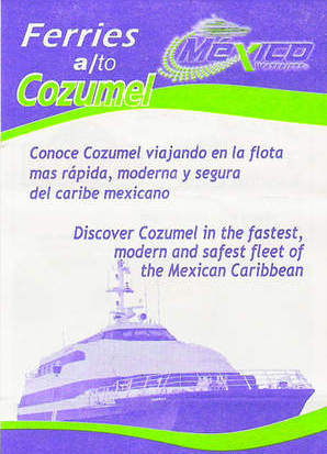 cozumel chat sites Dockside chat - cozumel to pdc ferry just blew up at the pier in pdc - originally posted by gullpt that's a shame, wonder if it came from the galley.